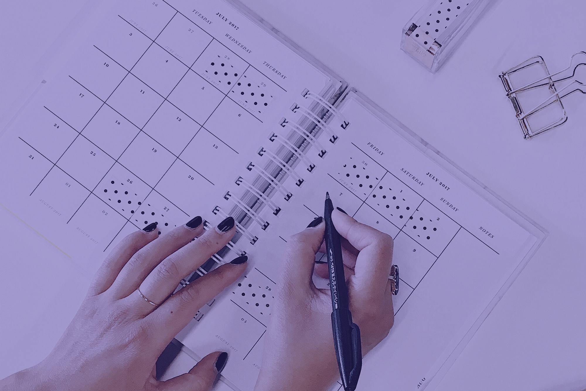 ¿Sabes cuál es la diferencia entre agenda, diary y schedule?